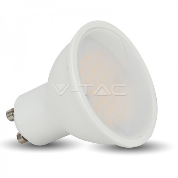LED Крушка - 6W GU10 SMD Пластик