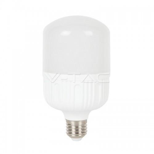 LED Крушка - 24W Е27 T120 Big Ripple Пластик
