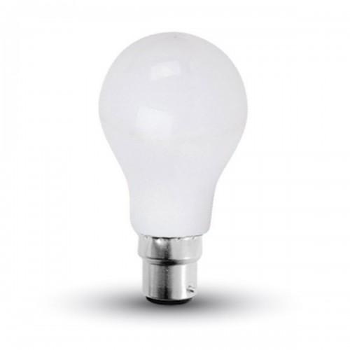 LED Крушка - 15W A65 B22 200'D Пластик Топло Бяла Светлина