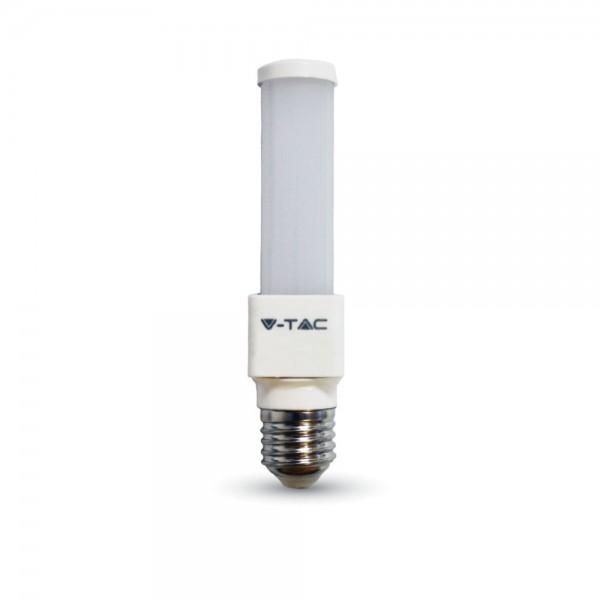 LED Крушка - 6W E27 PL Топло Бяла Светлина