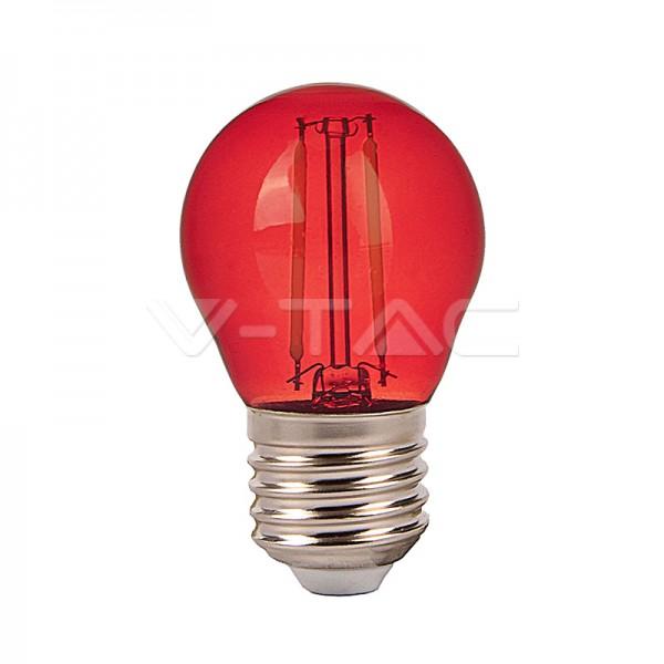 LED Крушка – 2W Filament E27 G45