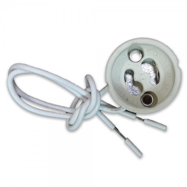 GU10 Основа с PVC кабел