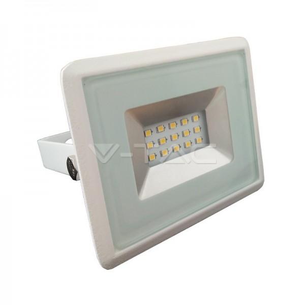 10W LED Прожектор E-Series Бяло Тяло