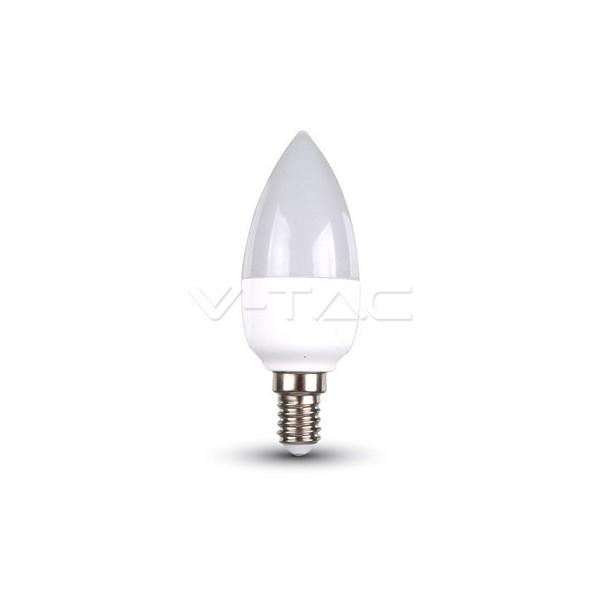 LED Крушка - 5.5W E14 Кендъл 6400K