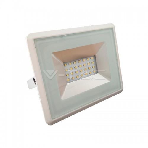 20W LED Прожектор Е-Series Бяло Тяло