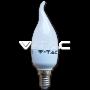 LED Крушка - 6W E14 Кендъл Пламък
