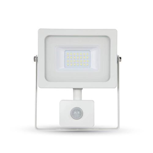 10W LED Прожектор SMD Сензор Бяло Тяло