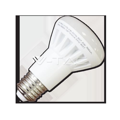 LED Крушка - 8W E27 R63