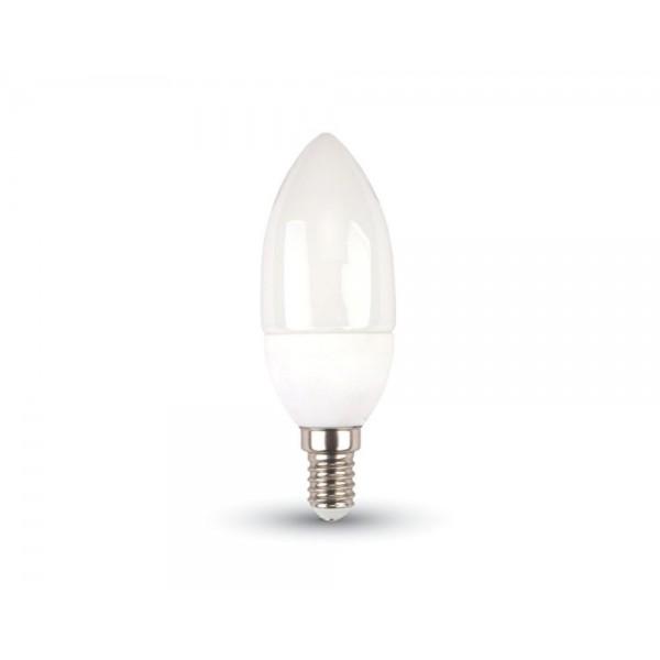 LED Крушка - Кендъл 5.5W E14 Термо Пластик 6400К