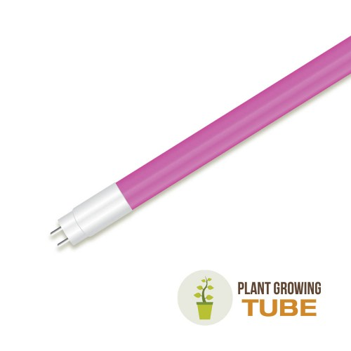 LED Пура T8 18W - 120 см за Осветяване на Растения