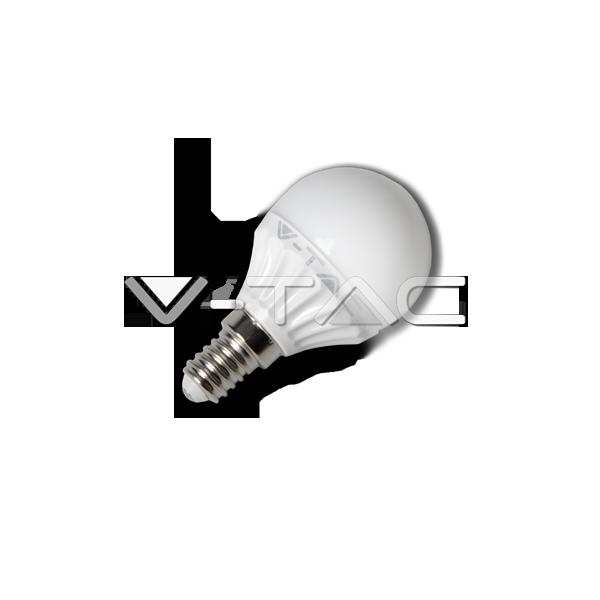 LED Крушка - 4W E14 P45
