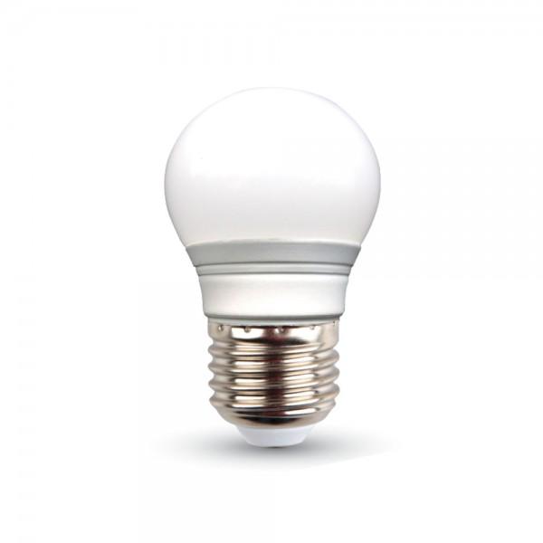LED Крушка - 3W E27 G45