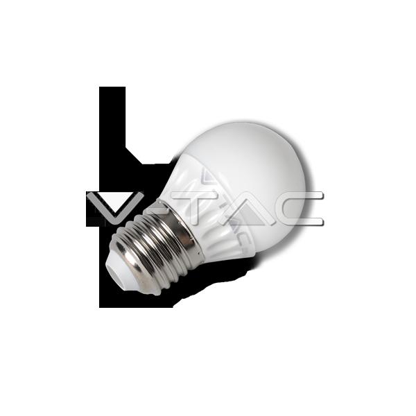 LED Крушка - 4W E27 G45