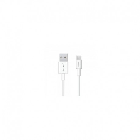 1 M Микро USB кабел бял Pearl серия