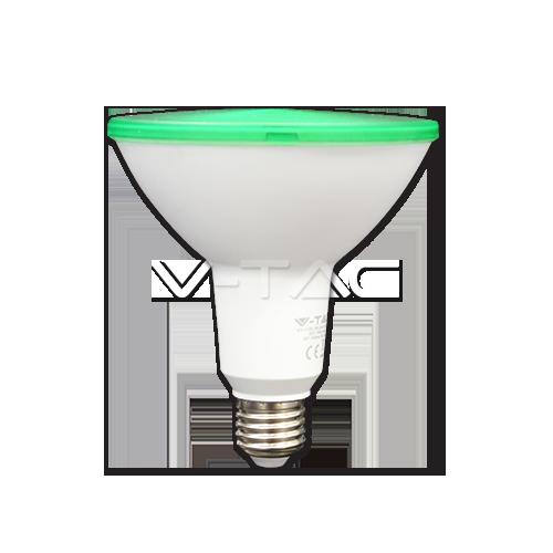 LED Крушка - 15W PAR38 E27 IP65 - три цвята