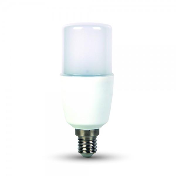 LED Крушка - 9W T37 E14 Пластик