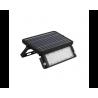 10W LED Соларен прожектор 4000K черен