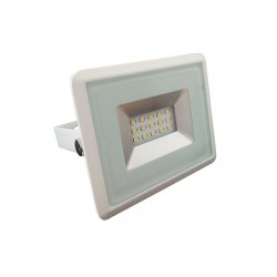 10W LED Прожектор Е-Series бяло тяло