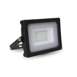 20W LED Прожектор SMD черно тяло 4000K