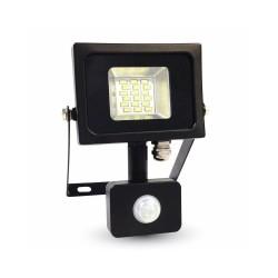 10W Прожектор сензор SMD черно/сиво тяло