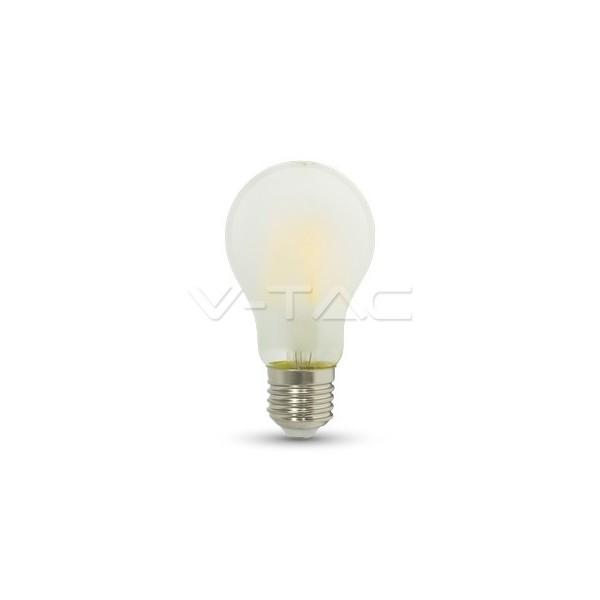 LED Крушка - 5W Filament E27 A60 Матирано Покритие