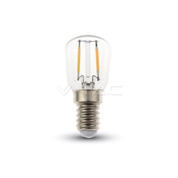 LED Крушка - 2W Filament E14 ST26