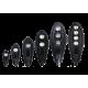Лот от 10бр. Уличен LED осветител 150W DOB COB LED