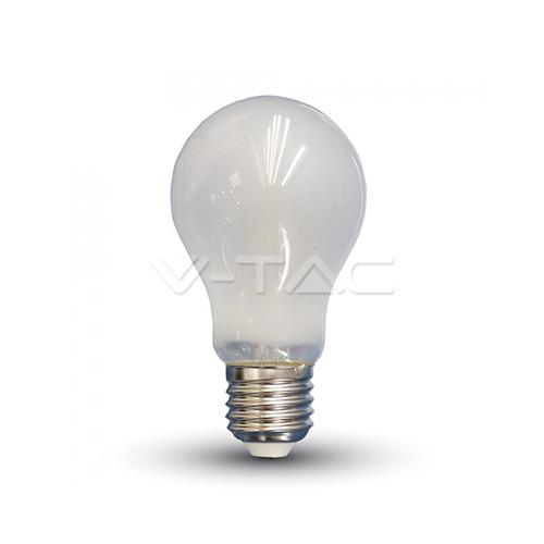LED Крушка - 7W Filament E27 A60 A++ Матирано Покритие