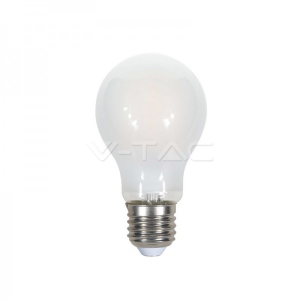 LED Крушка - 7W Filament E27 A60 A++ Кръст Матирано Покритие Топло Бяла Светлина