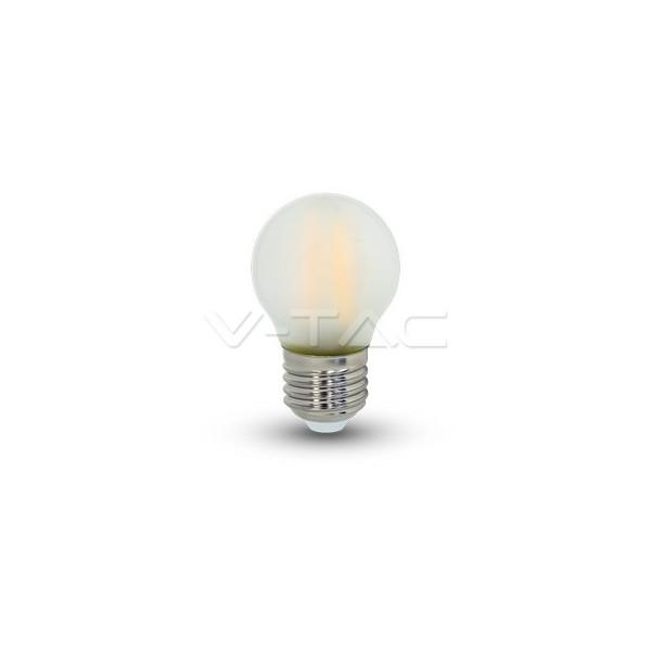 LED Крушка - 4W Filament E27 G45 Матирано Покритие