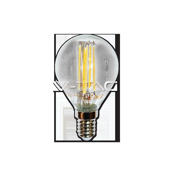 LED Крушка - 4W Filament E14 P45