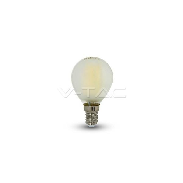 LED Крушка - 4W Filament E14 P45 Матирано Покритие