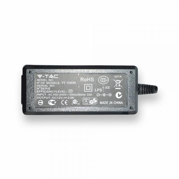 LED Захранване - 30W 12V 2.5A Пластик