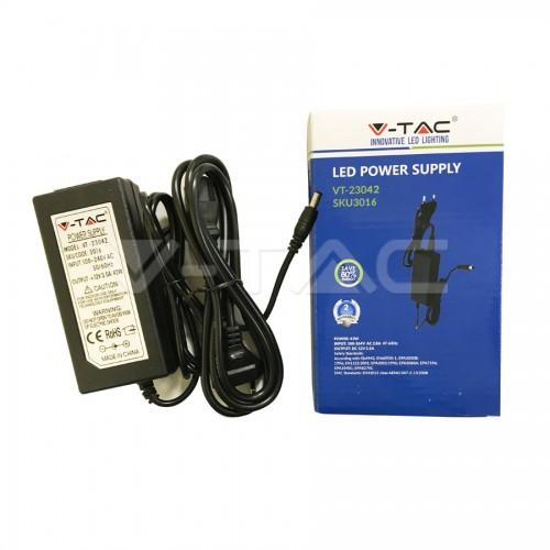 LED Захранване - 42W 12V 3.5A Пластик