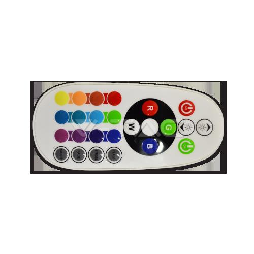 Дистанционно Управление RGB 24 бутона Кръгло - NEW
