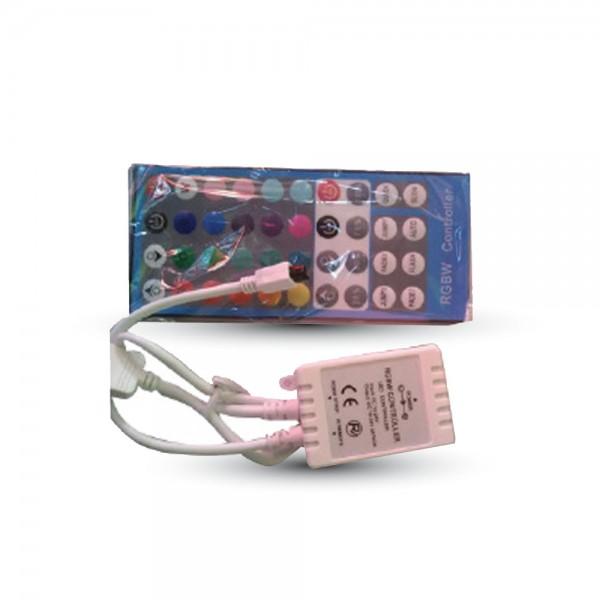 Контролер за LED Лента RGB+Бяло