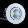 3W LED Луна COB Кръгъл Модул - Бяло Тяло Бяла Светлина