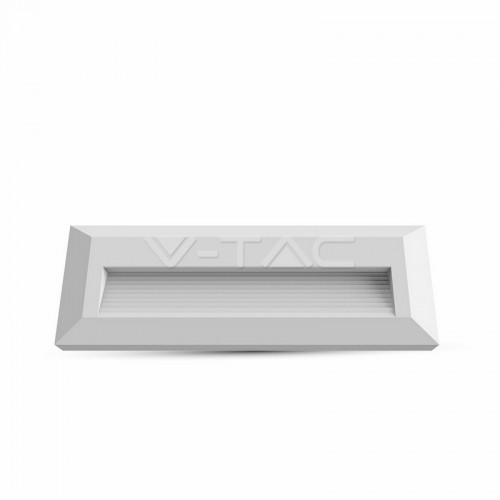 3W LED Осветление За Стъпала Бяло Тяло