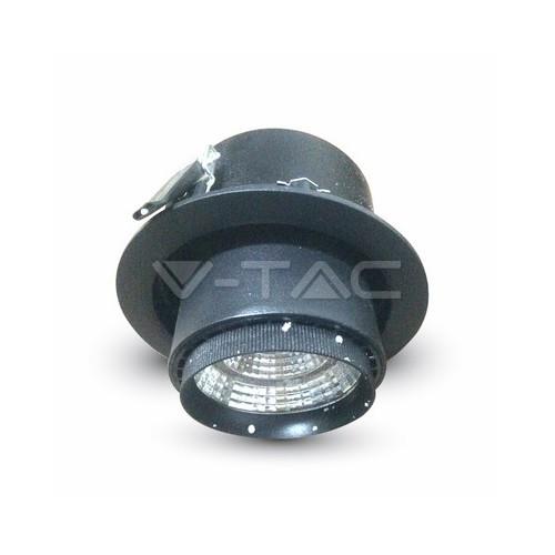 25W LED Луна COB Променлив Ъгъл черно Тяло