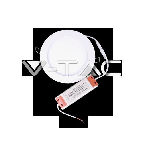 6W LED Premium Панел - Кръг