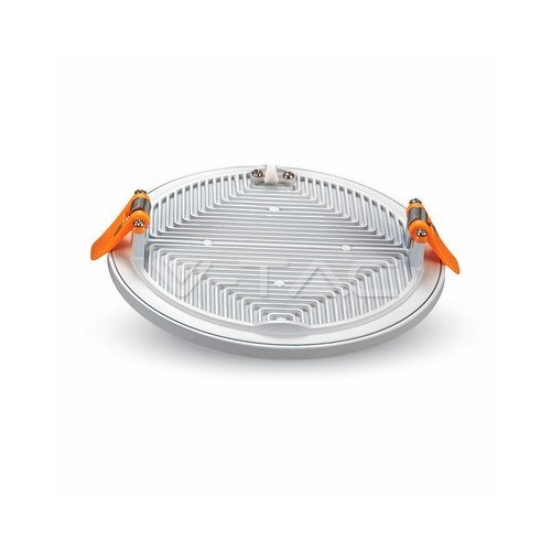 8W LED Slim Панел Кръг