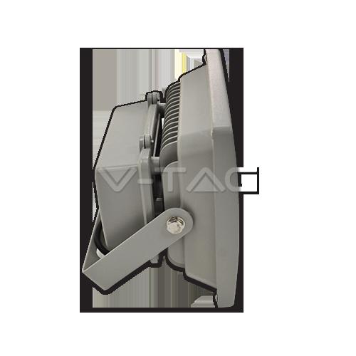 30W LED Прожектор RGB С RF Дистанционно SMD Сиво Тяло